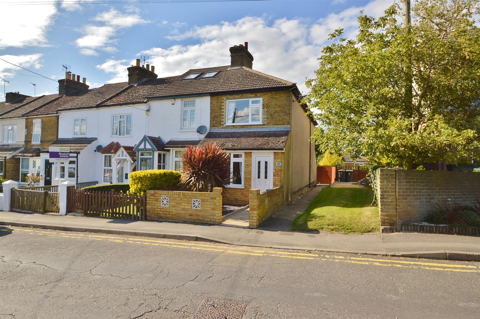 3 Bedrooms Terraced House for sale in Bell Lane, Burham